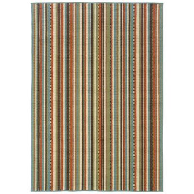 Oriental Weavers Cabana Terracotta 8 ft. 6 in. x 13 ft. Area Rug