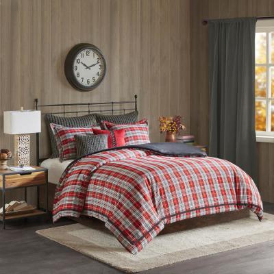 WR Williamsport Plaid Comforter Set