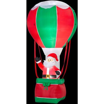 12 ft. H Inflatable Santa in Hot Air Balloon Product Photo