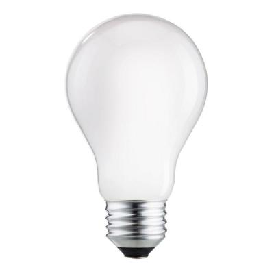 60W Equivalent A19 Halogen Light Bulb (12-Pack)
