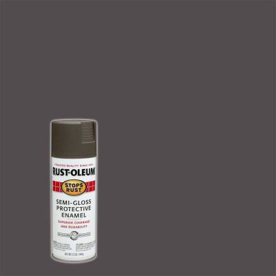 12 oz. Protective Enamel Semi-Gloss Anodized Bronze Spray Paint (Case of