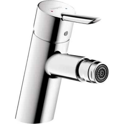 Hansgrohe Focus S Single Hole Single-Handle Bidet Faucet in Chrome (Valve Not Included)