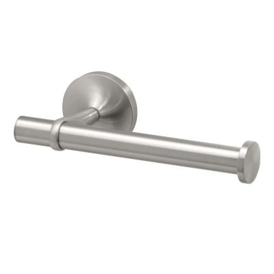 Dove Single Post Toilet Paper Holder in Satin Nickel