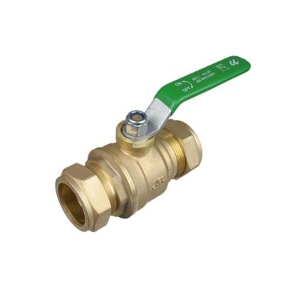 3/4 in. Compression Brass Full Port 200 psi Double O-Ring Ball