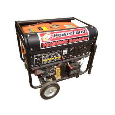 Powerland 6,500-Watt Tri-Fuel Gasoline LPG and NG Generator with Electric Start