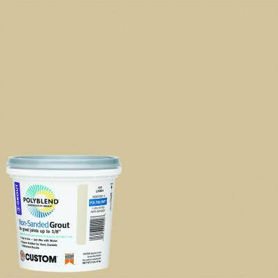 Custom Building Products Polyblend #122 Linen 1 lb. Non-Sanded Grout
