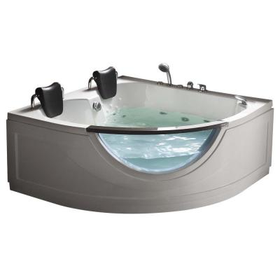 chelsea ft heated whirlpool tub in white