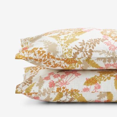 Company Cotton Florescence Multicolored Cotton Percale Pillowcase (Set of 2)