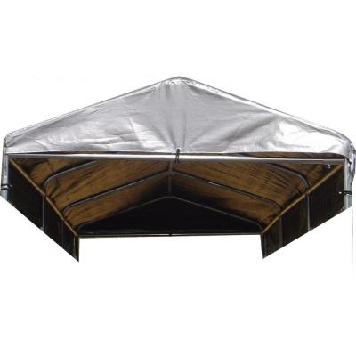 Lucky Dog Weatherguard 5 ft. x 15 ft. Kennel Cover with Frame CL 51597