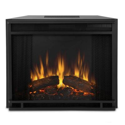 Real Flame Vivid Flame 23 In Electric Fireplace Insert 4099 The Home Depot