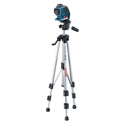 Bosch 360-Degree 3-Plane Laser Level with Compact Tripod