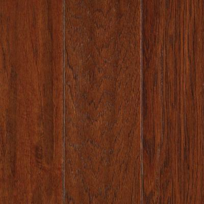 Autumn Hickory 3/8 in. x 5.25 in. x Random Length Soft Scraped Engineered Uniclic Hardwood Flooring (22.5 sq. ft./ case) Product Photo