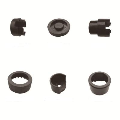 Deck Impressions Black Round Line Mounting Hardware (10-Pack)