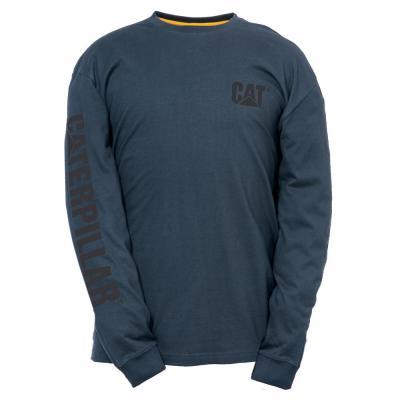 Trademark Banner Men's Cotton Long Sleeve T-Shirt