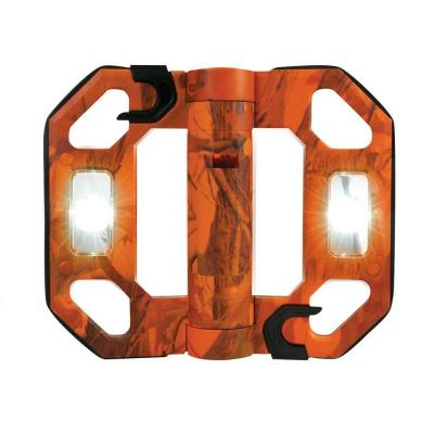 200-Lumen Mini Compact Folding LED Work Light - Orange