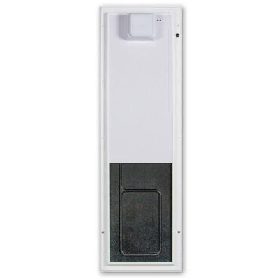 12.75 in. x 20 in. Large White Wall Mount Electronic Dog Door Product Photo