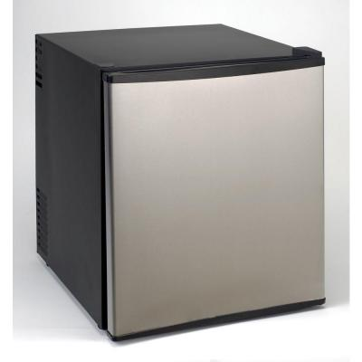 Avanti 1.7 cu. ft. Superconductor Mini Refrigerator in Stainless Steel with AC/DC Adapter