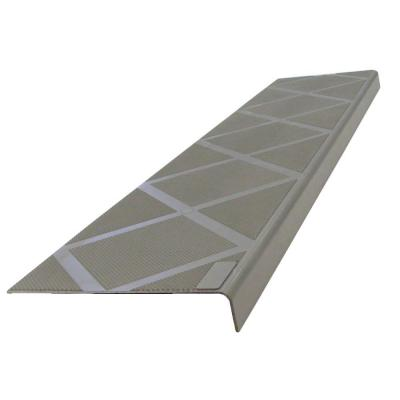 composigrip anti slip stair tread 48 in grey step cover 01106c the home depot. Black Bedroom Furniture Sets. Home Design Ideas