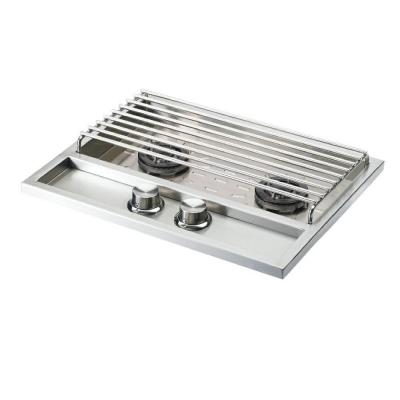 Sedona by Lynx Stainless Steel Built-In Natural Gas Double Side Burner
