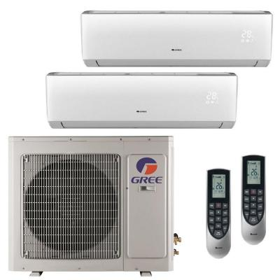 Multi-21 Zone 24,000 BTU 2 Ton Ductless Mini Split Air Conditioner with Heat, Inverter, Remote - 230-Volt/60Hz Product Photo