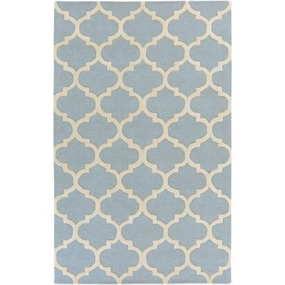 Pollack Stella Sky Blue 2 ft. x 3 ft. Indoor Accent