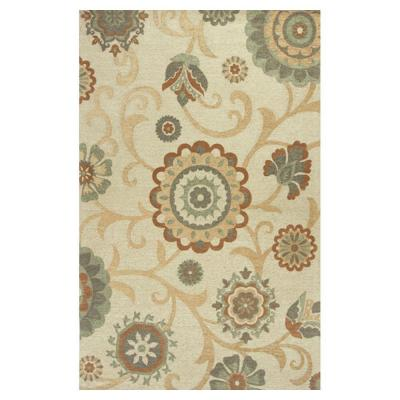 Natural Tapestry Beige/Brown 5 ft. x 7 ft. 6 in. Area