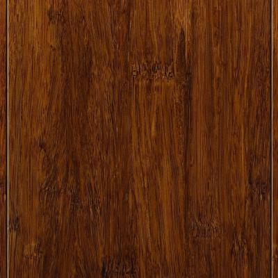 Home Legend Strand Woven Harvest Solid Bamboo Flooring - 5 in. x 7 in. Take Home Sample