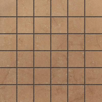 U S Ceramic Tile Murano Nocce 12 In X 12 In Glazed Porcelain Mosaic Floor Wall Tile