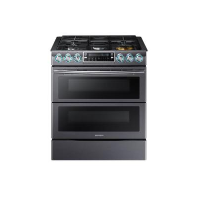 Flex Duo 5.8 cu. ft. Slide-In Double Oven Gas Range with