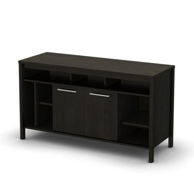 South Shore Spirit Ebony TV Stand-DISCONTINUED