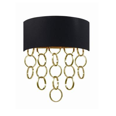 Novello Collection 2-Light Gold Wall Sconce
