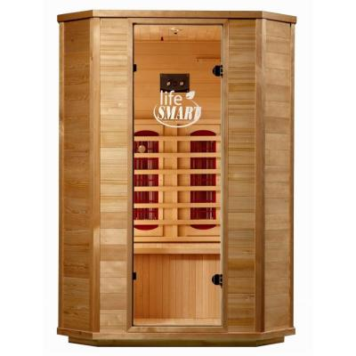 Lifesmart InfraColor 2 Person Sauna with 4 Oversized Ceramic Heaters and Chromo Therapy-DISCONTINUED