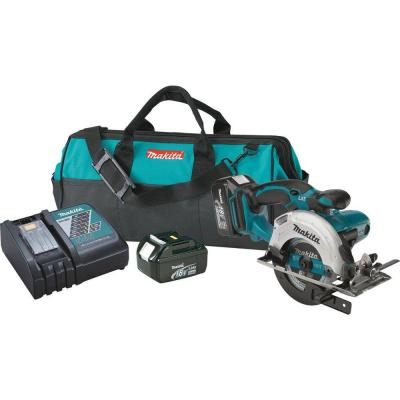 18-Volt LXT Lithium-Ion 5-3/8 in. Cordless Circular Trim Saw Kit