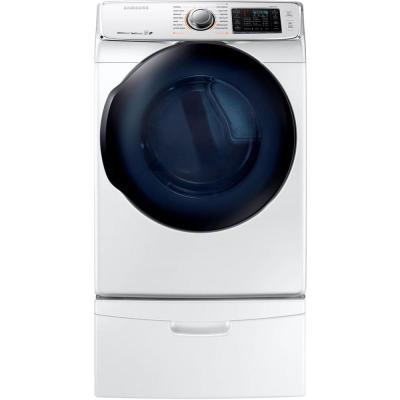 7.5 cu. ft. Gas Dryer with Steam in White, ENERGY STAR