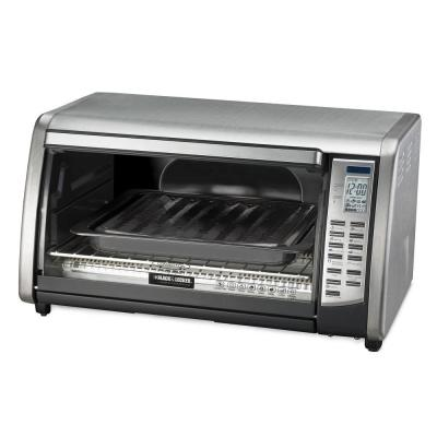 Black Decker 6 Slice Digital Touchpad Convection Toaster