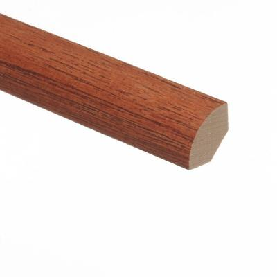 Hickory Chestnut 3/4 in. Thick x 3/4 in. Wide x 94 in. Length Hardwood Quarter Round Molding Product Photo