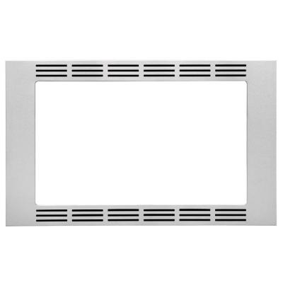 30 in. Trim Kit for 1.6 cu. ft. Microwave in Stainless