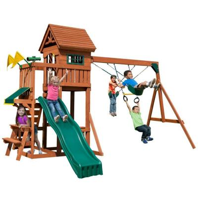 Playful Palace Wood Complete Playset