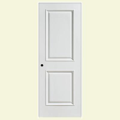 28 in. x 80 in. Palazzo Capri Smooth 2-Panel Square Solid