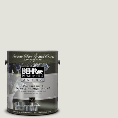 BEHR Premium Plus Ultra Home Decorators Collection 1-gal. #HDC-NT-24 Glacier Valley Semi-Gloss Enamel Interior Paint