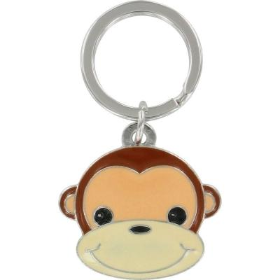 The Hillman Group 3D Monkey Key Chain (3-Pack)