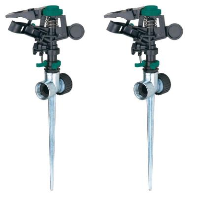 Pulsator Sprinkler with Zinc 2-Way Spikes (2-Pack) Product Photo