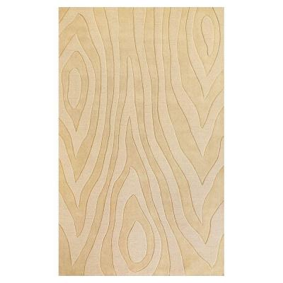 Kas Rugs Damask Grains Ivory 8 ft. x 10 ft. Area Rug