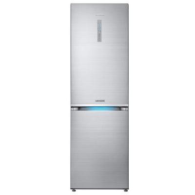 Samsung Chef Collection 24 in. W 12 cu. ft. Bottom Freezer Refrigerator in Stainless Steel Counter Depth