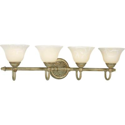 Progress Lighting Savannah Collection Seabrook 4-light Vanity Fixture P3207-42