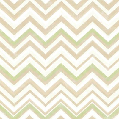 8 in. x 10 in. Susie Brown Chevron Wallpaper Sample