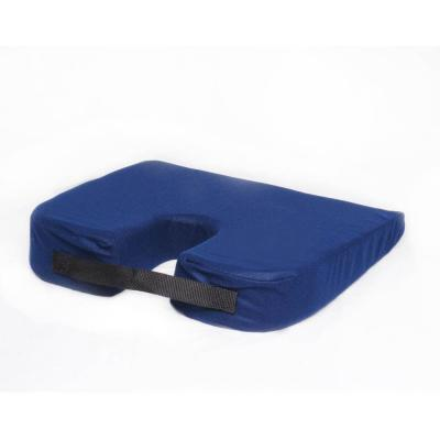 Cushion, Sloping Travel Coccyx in Navy Blue
