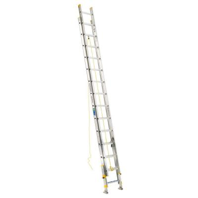28 ft. Aluminum D-Rung Equalizer Extension Ladder with 250 lb. Load