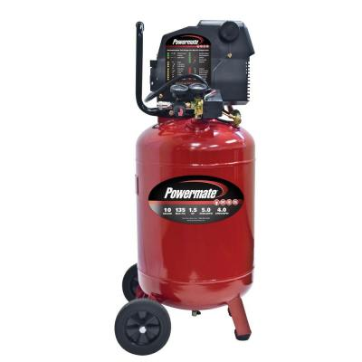 Powermate 10 Gal. Portable Electric Air Compressor with Extra Value Kit