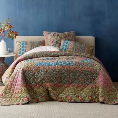 Villandry Cotton Patchwork Quilt